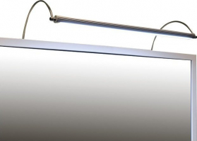 Sapho FROMT TOUCHLESS LED nástěnné svítidlo 47cm 7W, bezdotykový sensor, hliník ED547