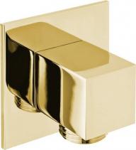Sapho Vývod sprchy, hranatý, tenká krytka, zlato SG302OR