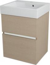 Sapho LARGO umyvadlová skříňka 49x60x41cm, dub benátský LA504