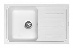Granitový dřez Sinks CLASSIC 740 Milk ACRCL74046028