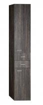 Aqualine ZOJA/KERAMIA FRESH skříňka vysoká 35x184x29cm, mali wenge 51221