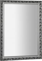 Sapho MELISSA zrcadlo v dřevěném rámu 570x770mm, stříbrná NL394
