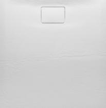 Sapho ACORA vanička z litého mramoru, obdélník 120x90x3, 5cm, bílá, dekor kámen AC005