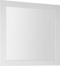 Aqualine FAVOLO zrcadlo v rámu 80x80cm, bílá mat FV080