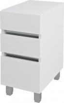 Sapho AVICE 3x zásuvka 30x70, 5x48cm, bílá AV062