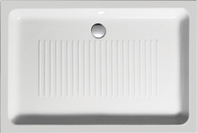 GSI Keramická sprchová vanička, obdélník 120x80x11cm 299411