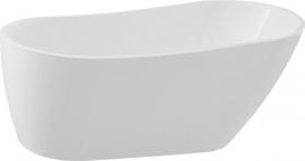 Aqualine TISA volně stojící vana, 170x80 cm, bílá E1780