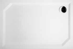 Gelco SARA sprchová vanička z litého mramoru, obdélník 110x75x3, 5 cm, hladká HS11075