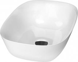 Sapho REIKO umyvadlo 46x32cm, litý mramor, bílá RE460