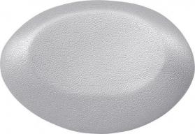 Polysan UFO podhlavník do vany 40x25cm, stříbrná 250082