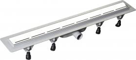 Polysan ROAD plastový sprchový kanálek s nerezovým roštem, 920x123x68 mm 71675