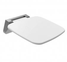 Polysan SAAP sklopné sedátko do sprchového koutu, 35x32, 8cm, bílá CW1110W