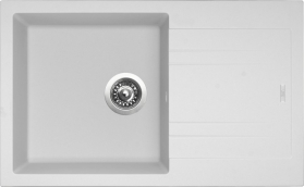 Granitový dřez Sinks LINEA 780 N Milk SIGLI780480N28