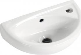 Aqualine OVAL keramické umývátko 39x23cm TP040