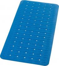 Ridder PLAYA podložka 38x80cm s protiskluzem, kaučuk, modrá 68303