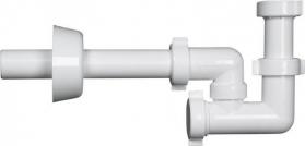 Bonomini BAZOOKA bidetový sifon 1'1/4, odpad 32mm, bílá 2314CP32B0