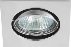 Sapho NAVI podhledové svítidlo výklopné, 50W, 12V, chrom 02551