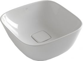 Sapho SOFT keramické umyvadlo 42, 5x18, 5x42, 5 cm, na desku, bez přepadu WH200