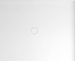 Polysan MIRAI sprchová vanička z litého mramoru, obdélník 120x90x1, 8cm, pravá, bílá 73180