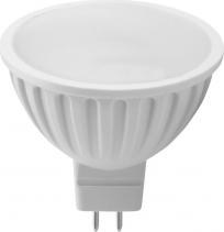 Sapho Led LED bodová žárovka 6W, MR16, 12V, denní bílá, 480lm LDP336