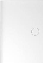 Polysan MIRAI sprchová vanička z litého mramoru, obdélník 90x80x1, 8cm, levá, bílá 73167
