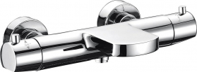 Sapho KIMURA nástěnná vanová termostatická baterie, chrom KU292