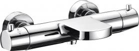 Sapho KIMURA nástěnná termostatická vanová baterie, chrom KU292