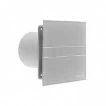 Cata E-100 GST koupelnový ventilátor axiální s časovačem, 8W, potrubí 100mm, stříbrná 00900500
