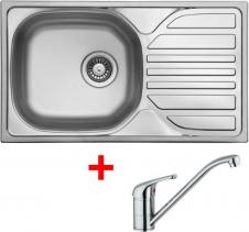 Nerezový dřez Sinks COMPACT 760 V+VENTO 4 CMM7605VVE4