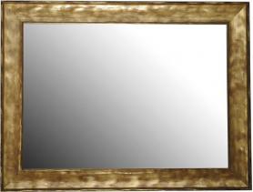Sapho BERGARA zrcadlo v rámu 860x640mm, zlatá NL526