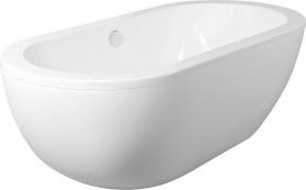 Aqualine BLANICE volně stojící vana 181x86x59 cm, bílá, 295l G7800