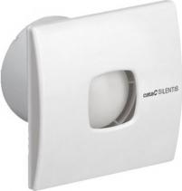 Cata SILENTIS 10 T koupelnový ventilátor axiální s časovačem, 15W, potrubí 100mm, bílá 01071000
