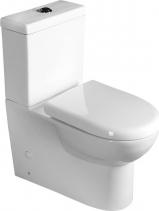 Aqualine TALIN WC kombi mísa s nádržkou včetně PP sedátka, spodní/zadní odpad PB101