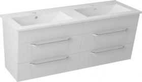 Sapho KALI umyvadlová skříňka 120x50x45cm, bílá 56121