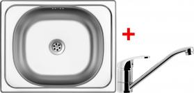 Nerezový dřez Sinks CLASSIC 500 6M+PRONTO CL5006MPRCL