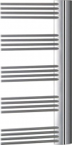 Enix ELIT otopné těleso L/P 575x1364 mm, 662 W, stříbrná E-614