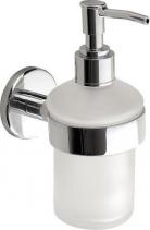 Aqualine SAMBA dávkovač mýdla 150ml, mléčné sklo SB119