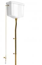 Kerasan WALDORF-RETRO splachovací mechanismus s řetízkem, bronz 754593
