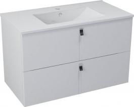 Sapho MITRA umyvadlová skříňka 89, 5x55x45, 2 cm, bílá MT091