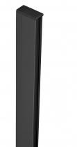 Polysan ZOOM LINE BLACK rozšiřovací profil pro nástěnný pevný profil, 15mm ZL915B