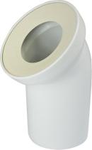 Nicoll Česká republika, s.r.o. WC univerzální odtokové koleno DN 100/D 110, 45°, šikmé PR7088C (58102010000)