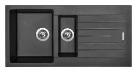 Granitový dřez Sinks PERFECTO 1000.1 Metalblack ACRPE100500174