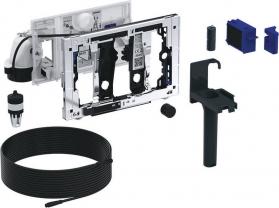 Geberit GEBERIT DuoFresh jednotka odsávání zápachu s ručním spouštěním a dávkovačem, pro Sigma 12 cm, chrom lesk 115.051.21.1