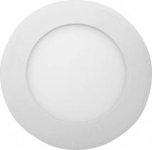 Sapho START LED podhledové svítidlo, 6W, 230V, 120mm, denní bílá, 390lm, bílá LDD151