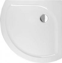Polysan XELOS sprchová vanička akrylátová, čtvrtkruh 90x90cm, R590, bílá 60111