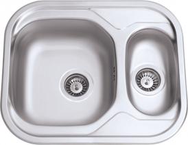 Nerezový dřez Sinks SKYPPER 600.1 V 0,7mm matný RDSKM60050017V