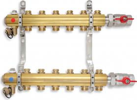 Novaservis Rozdělovač s regulačními ventily 7 okruhů RO07