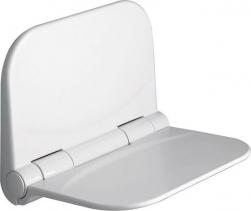 Aqualine DINO sprchové sedátko, 37, 5x29, 5cm, sklopné, bílá DI82