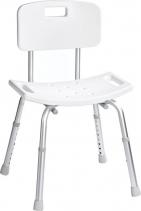 Ridder Židle s opěradlem, nastavitelná výška, bílá A00602101