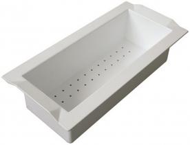 Sinks cedník BOX plast bílá SD223